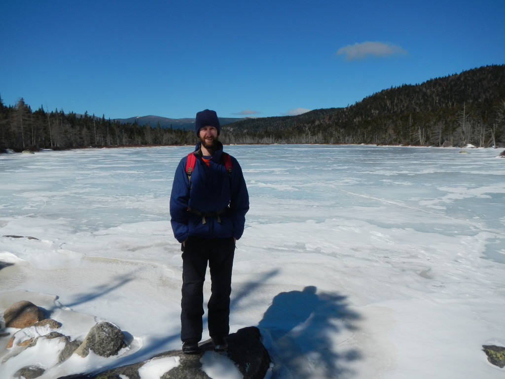 Ethan Pond was completely frozen.